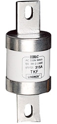 Bolting fuse link withc Central tags HRC Fuse-link LINDNER